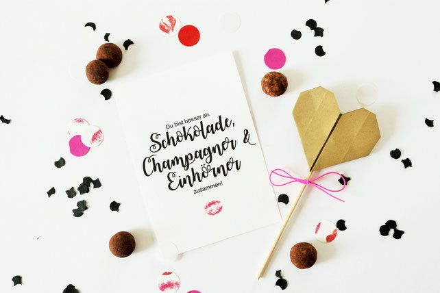 Freebie Karten als DIY Geschenk Idee zum Valentinstag