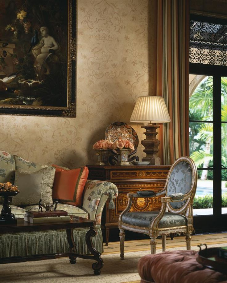 Classic Elegant Home Interior Design Ideas Old Palm Golf: 117 Best Tuscan Furniture Images On Pinterest
