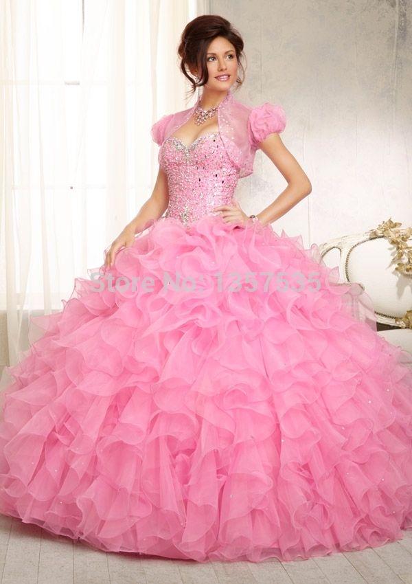 82 best Vestidos de 15 anos ♥ images on Pinterest | Formal prom ...