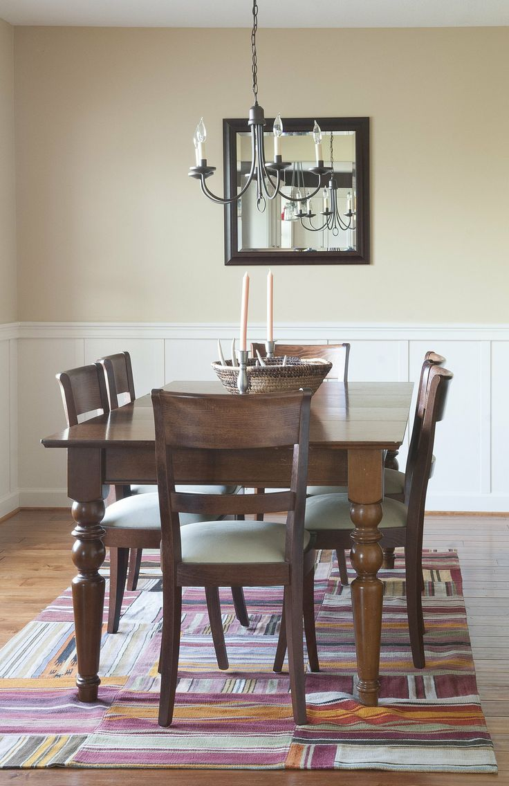 Di diy wainscoting dining room - Wainscoting For The Living Room
