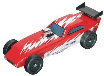 RMXY9636 - Revell Pinewood Derby Funny Car Racer Kit