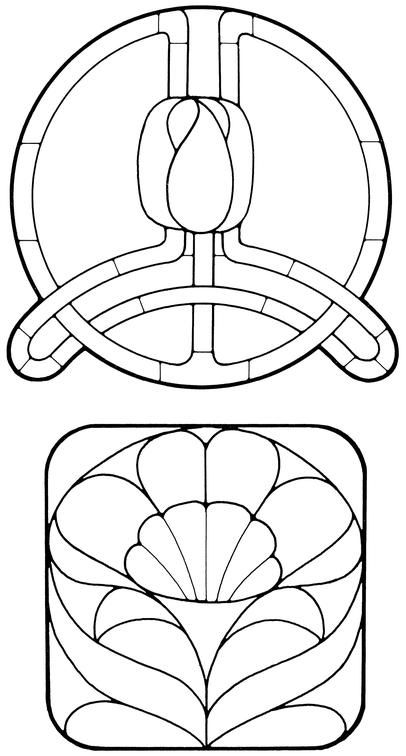 681 best Stained Glass PATTERNS images on Pinterest