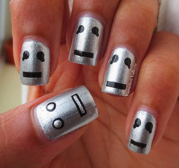 21 best Video Game Nails images on Pinterest | Nail art ideas, Nail ...