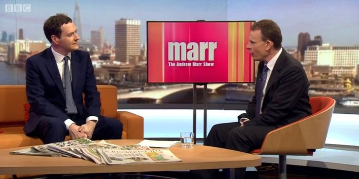 Osborne Is 'Running Scared' Of Face-To-Face With John McDonnell On 'Andrew Marr Show' Sofa