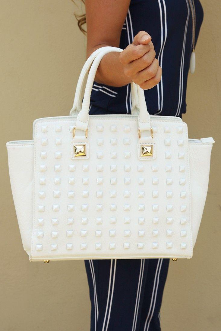 Mine All Mine Purse: White #shophopes