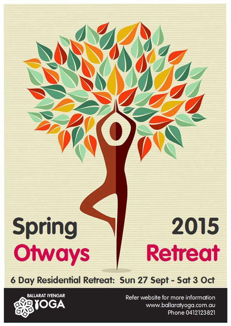 Spring Retreat. Places still available. #yogaretreat #ballaratyoga