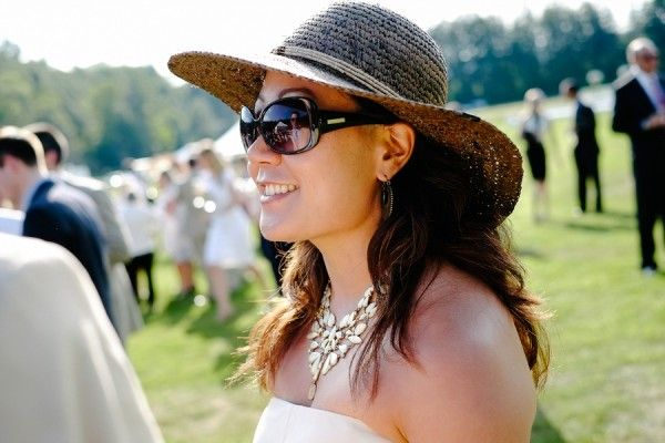 Reminds me of my days at UVA's Foxfield | Casual Preppy Wedding Guest Attire