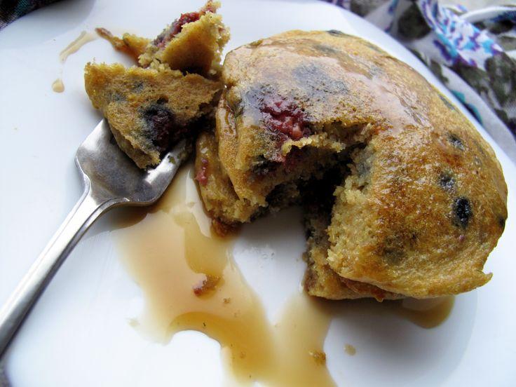 Lemon Raspberry Quinoa Pancakes - Cooking Quinoa Almond Milk, Quinoa ...
