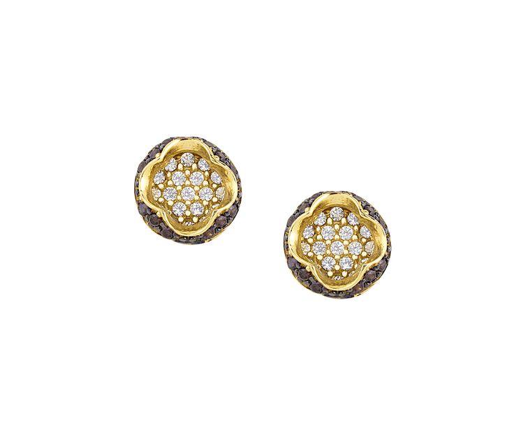 gold earrings in 14K fashionable