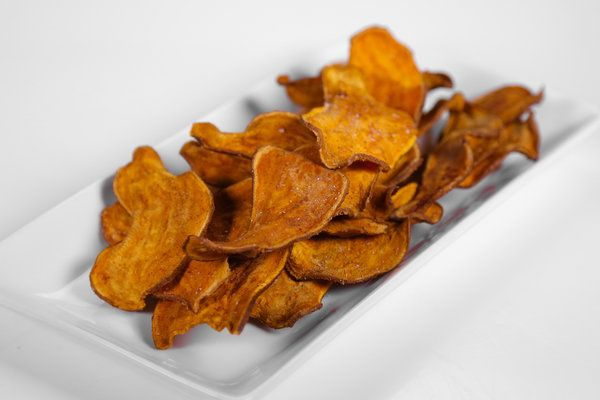 """the chew: Daphne's Baked Sweet Potato """"Fries"""": delicious, easy, and much lower in calories than fried potatoes. Baking this tomorrow with the whole chicken marinated in orange-ginger sauce. Serving with fresh steamed zucchini. Yum."""