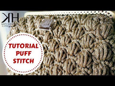 ★ [Tutorial uncinetto #18] Puff stitch | Crochet tutorial | Katy Handmade ★ - YouTube
