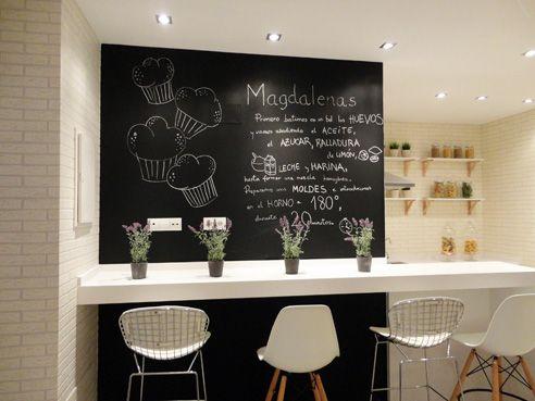 17 mejores ideas sobre paredes de pizarra de cocina en - Paredes decoradas modernas ...