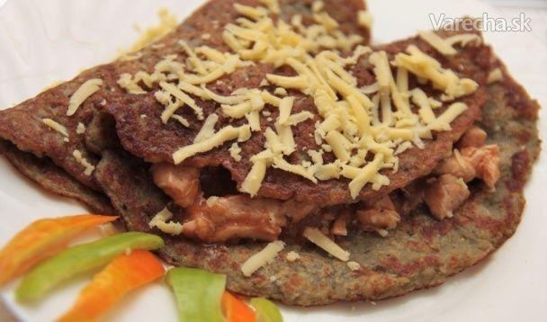 Zemiakové placky plnené kuracím soté - Recept
