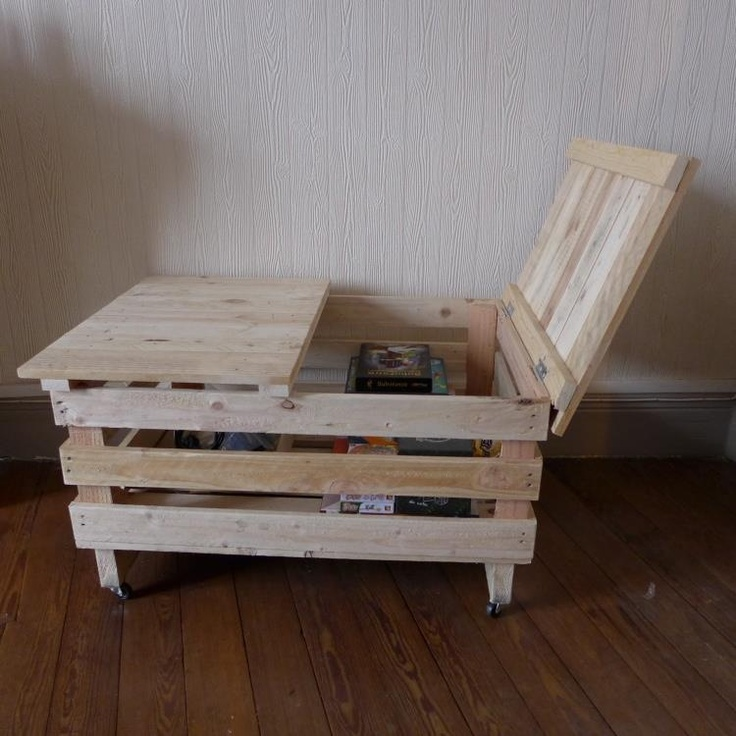 Storage with pallets