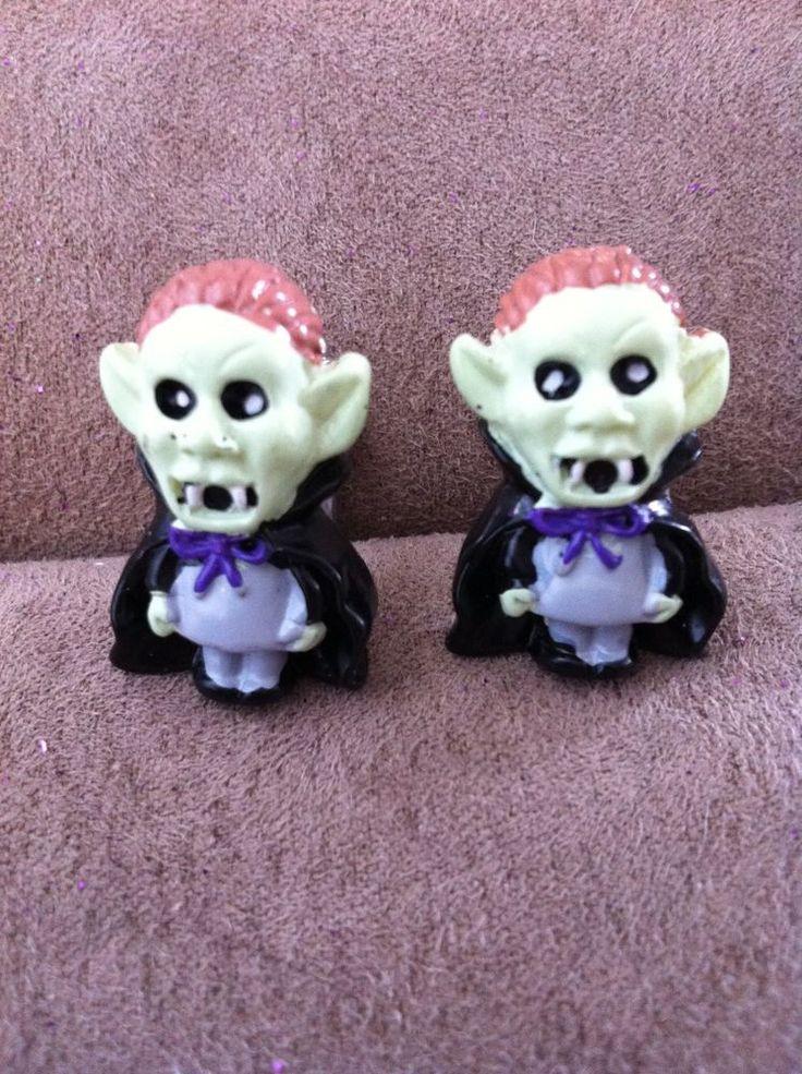 NEW Mens Womens vampire dracula monster cufflinks Made in USA gothic cuff links #MsFormaldehyde