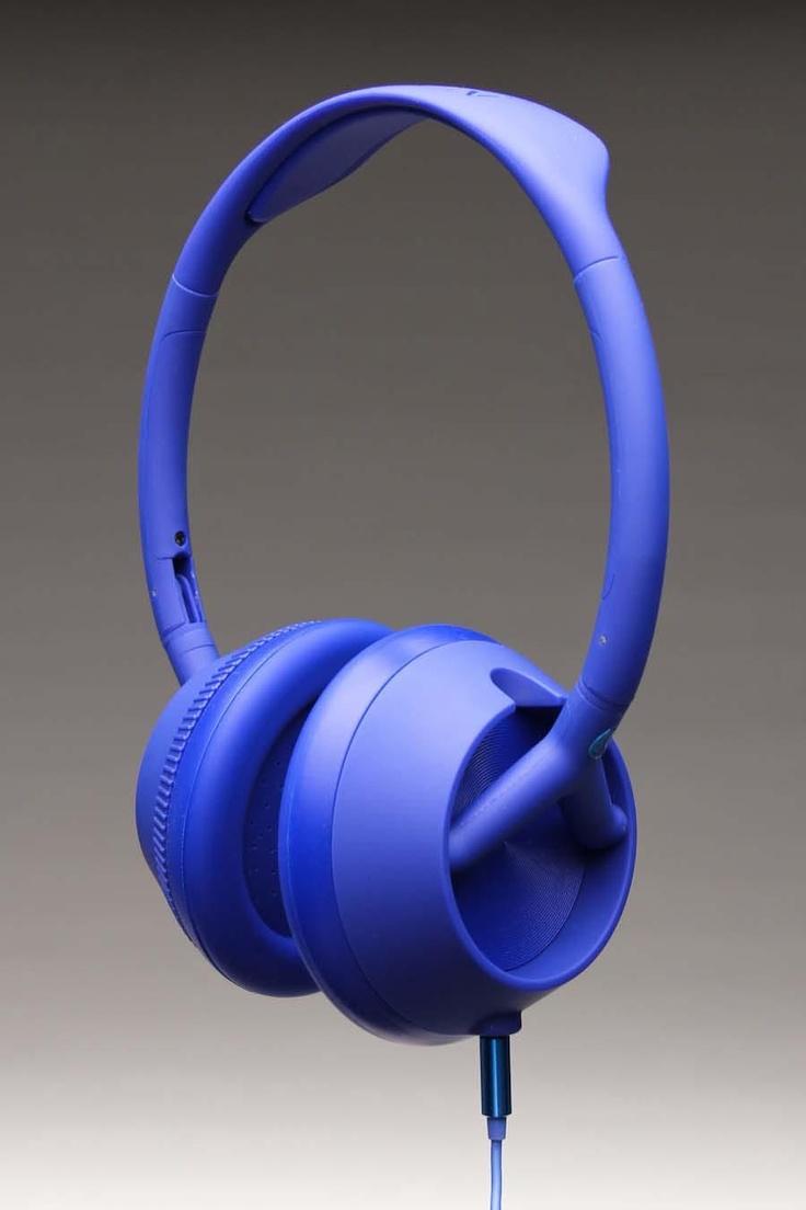 Audífonos azules, divertido!