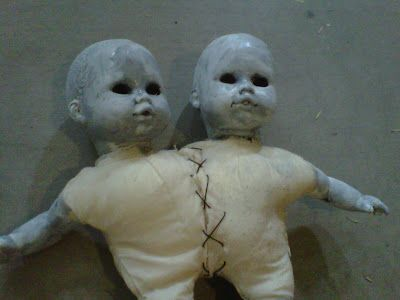 Valley of the Dolls - creepy baby doll makeovers