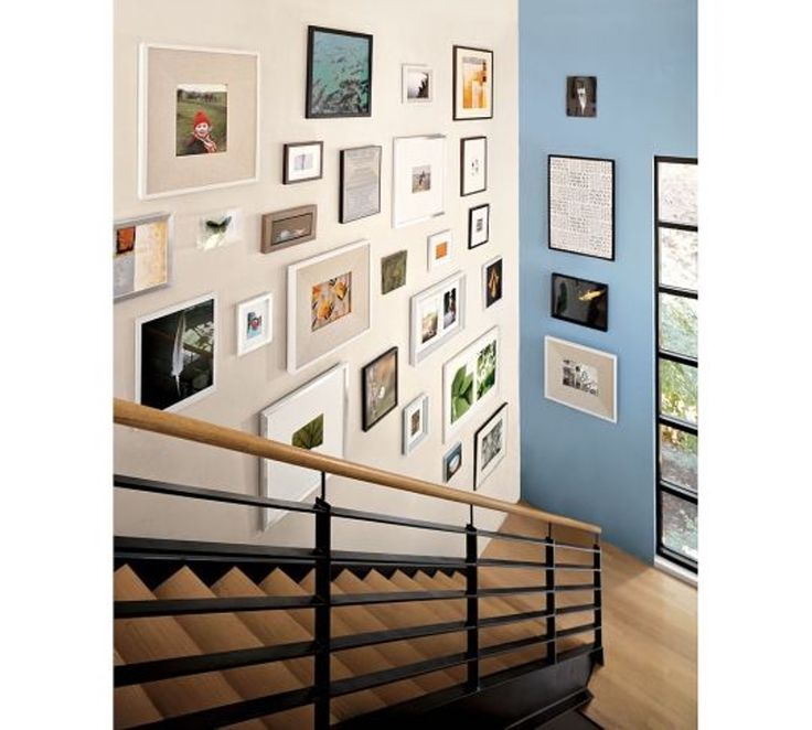 The Art of Creating a Staircase Gallery
