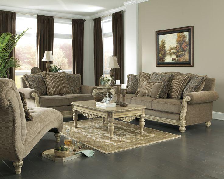 Parking Bay Platinum Collection Ashley Furniture Sofa - ashley living room set
