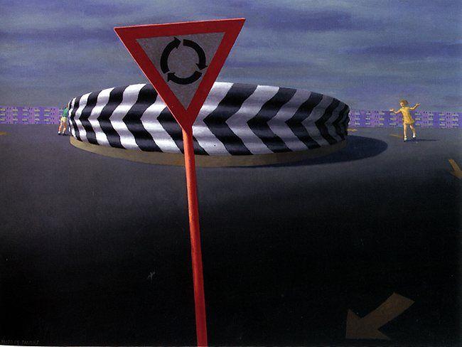 Jeffrey Smart | The paintings of Jeffrey Smart | The Australian