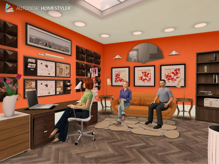 """Check out my #interiordesign """"Office"""" from #Homestyler http://autode.sk/1g7hmUd"""