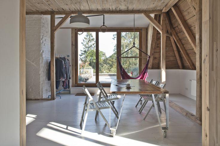F5 - Wnętrze tygodnia: mieszkanie na poddaszu gdańskiej kamienicy
