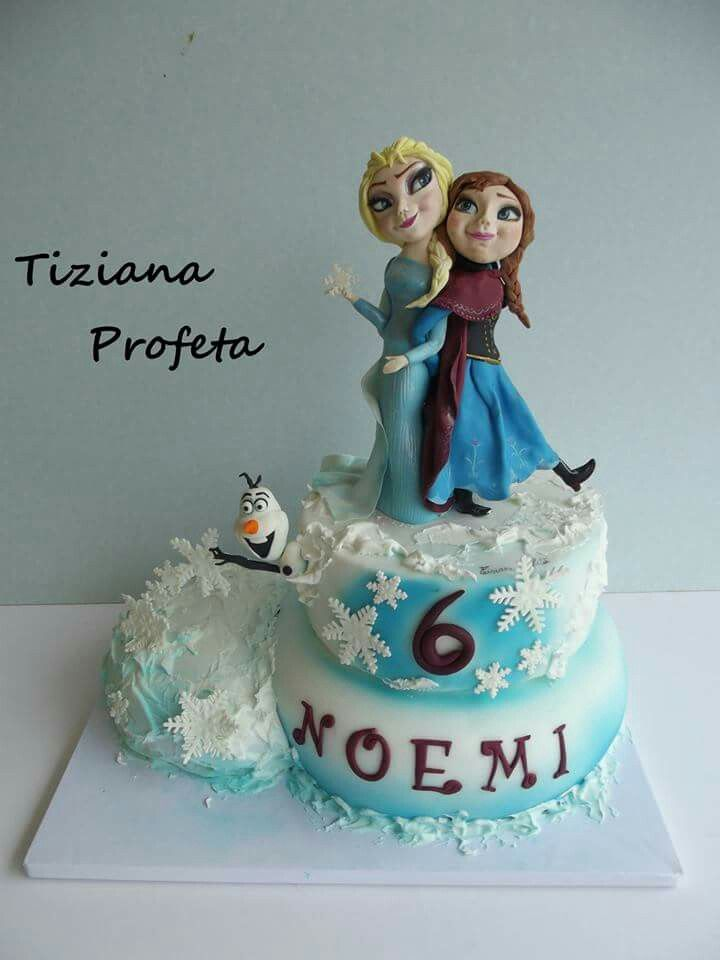Elsa e Anna cake