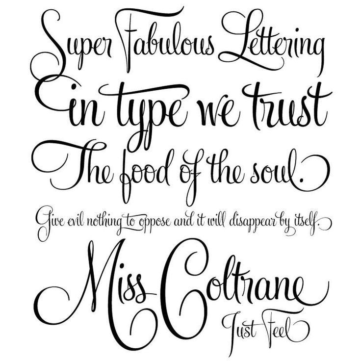 Best Cursive Fonts For Tattoos Ideas On Pinterest Script
