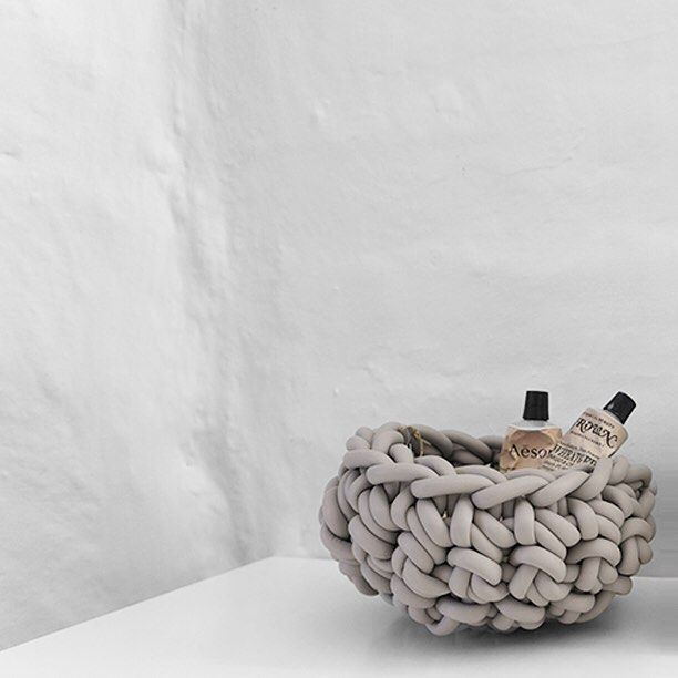 Neo crocheted rubber bowls from The Minimalist Store