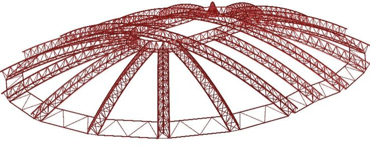 Design Review Of Arena In Jerusalem With Long Span Steel