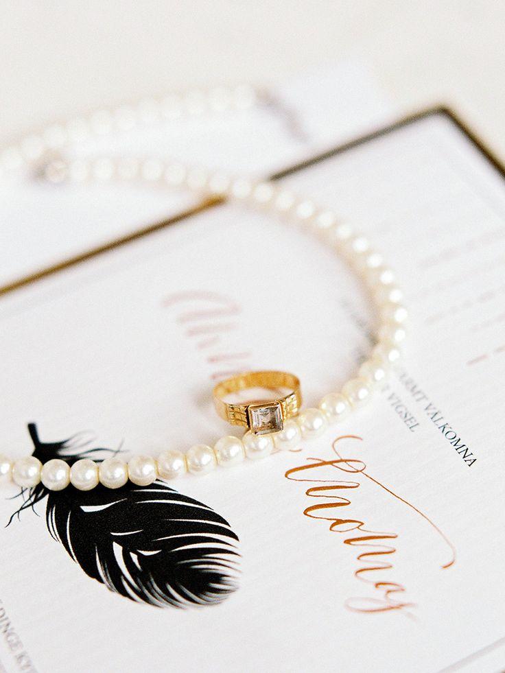Photography: 2 Brides Photography / Isabelle Hesselberg - 2brides.se  Read More: http://www.stylemepretty.com/destination-weddings/2015/05/11/vintage-elegant-swedish-wedding-inspiration/