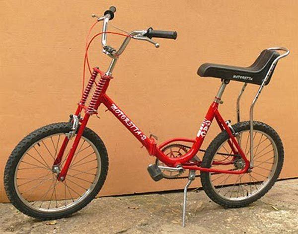 La #bicicleta de la marca G.A.C después del exito de las BH, lanzó la mitica #Motoretta