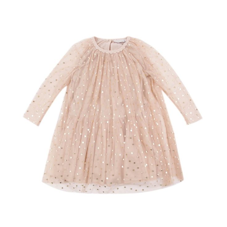 #STELLA MCCARTNEY Misty hearts dress Powder pink