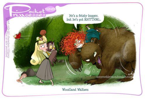 Pocket Princesses 198: Woodland WaltzesPlease reblog, don't...
