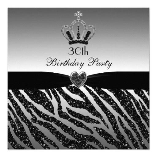 179 best Zebra print birthday ideas images – Zebra Print Birthday Invitations