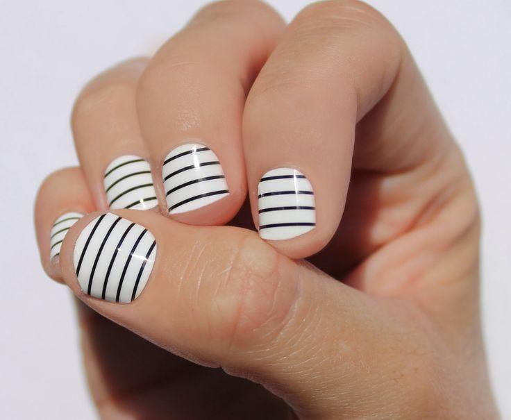 25 unique striped nail art ideas on pinterest hibiscus nail art so gloss nail wraps sogloss stripes nail art striped nails prinsesfo Gallery