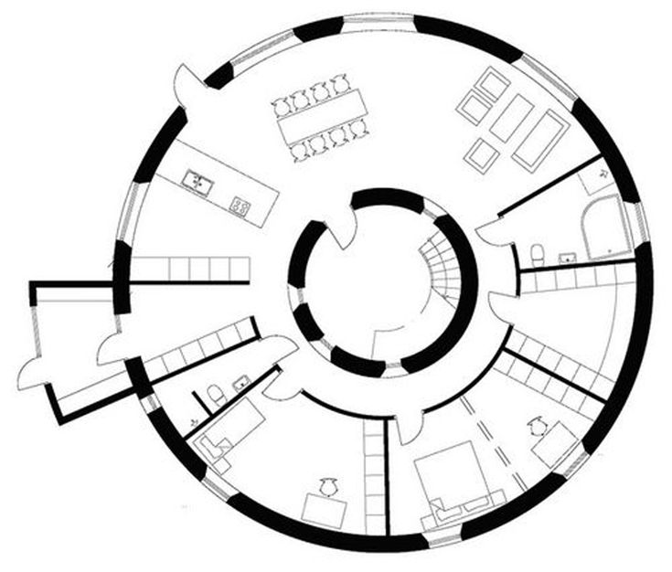 unusual house plans house layouts from kjellgren kaminsky unique round wooden - Unique House Plans