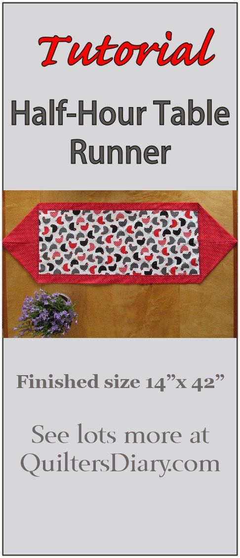 25 best ideas about table runner tutorial on pinterest for 10 minute table runner placemats