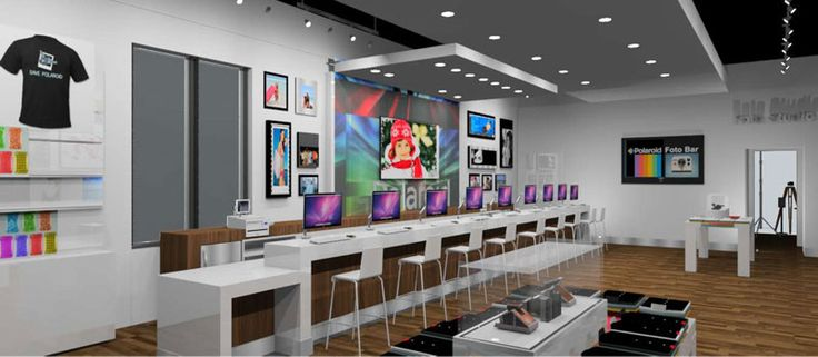 Photography giant Polaroid plans to open at least ten new retail stores this year focused on getting people to print and edit the photos saved on their smartphone, or uploaded to social networks such as Facebook, Instagram and Picasa.