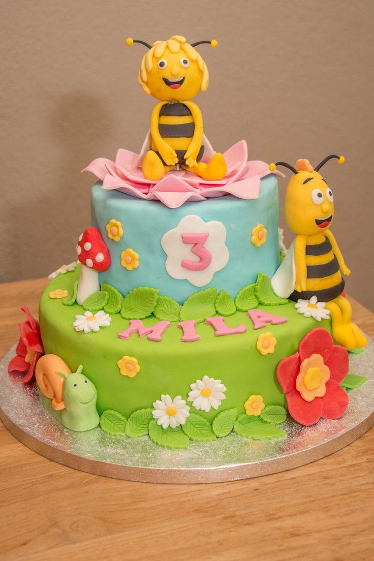 Maya de Bij Verjaardagstaart - Maya the Bee Cake- Verjaardagstaart meisje