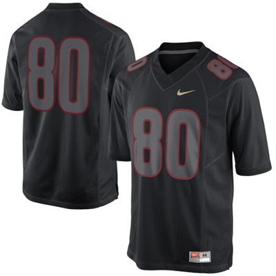 Nike Florida State Seminoles (FSU) 2013 Blackout Game #80 Limited Jersey - Black  Clint want this