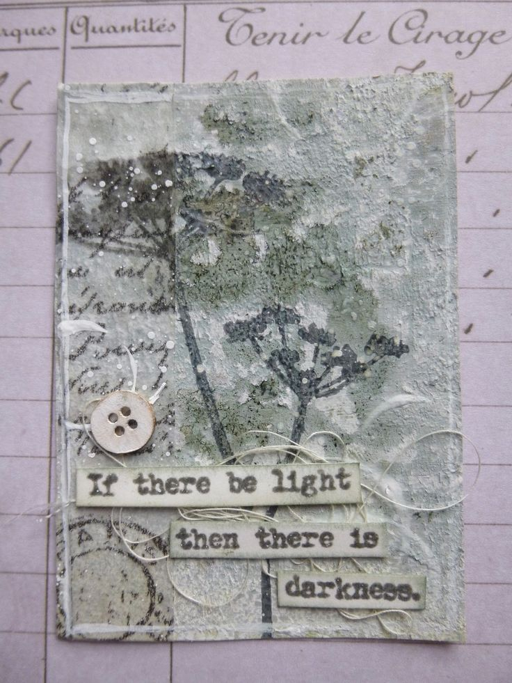 Trio of ATCs at Words and Pictures