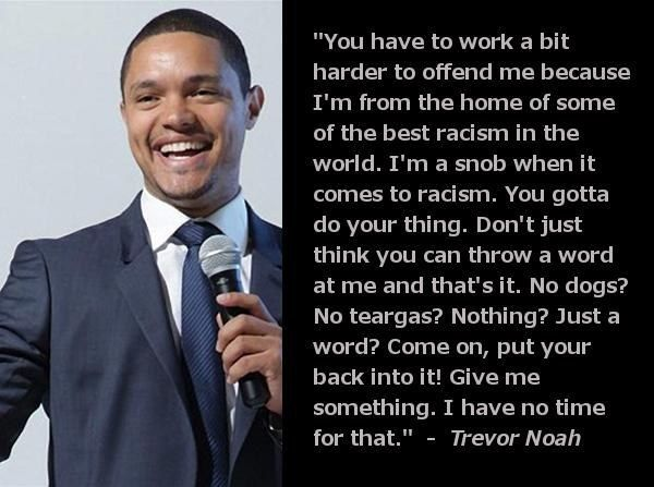 Seriously. | Trevor Noah Is The World's Sexiest Comedian