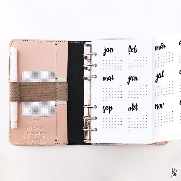 die besten 17 ideen zu taschenkalender auf pinterest federmappen filofax und mein taschenkalender. Black Bedroom Furniture Sets. Home Design Ideas