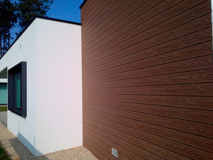 M s de 1000 im genes sobre revestimiento de fachadas con - Revestimiento de madera ...