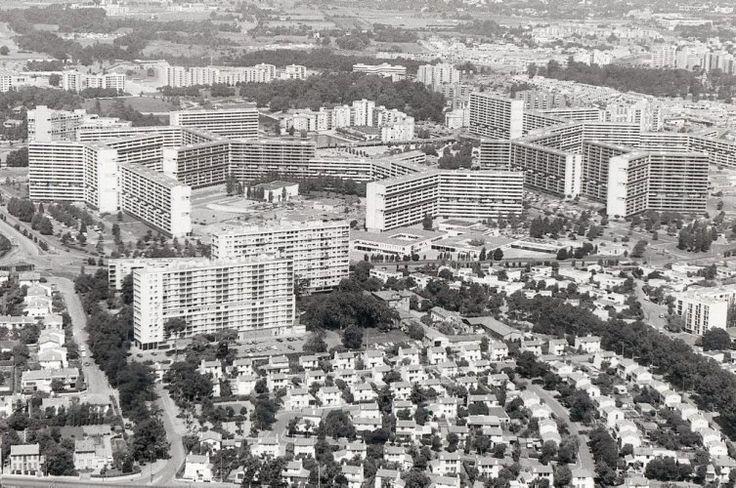 Toulouse & le mirail, 1961 . Candils, Woods, Josic