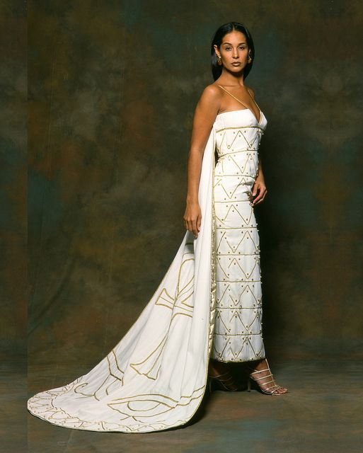 Egyptian Inspired Dress Egyptian inspired Wedd...