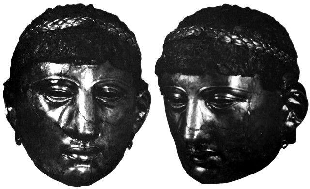 Mascaras Romanas de caballeria  Desaparecidas