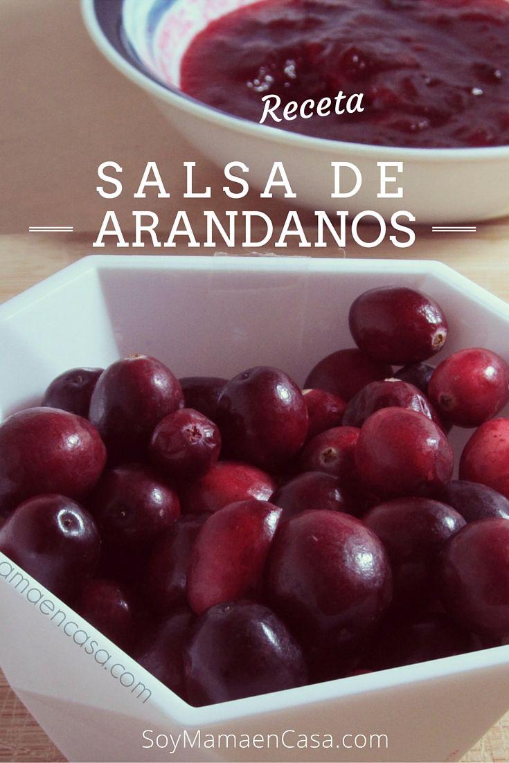 Cómo preparar fácilmente una deliciosa Salsa de Arándanos (Cranberry Sauce)