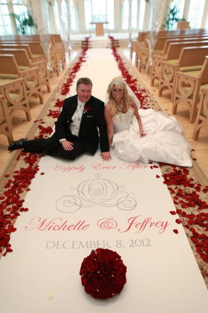 Custom Fabric Aisle Runner Includes this by eventbelladesigns